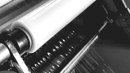 Pakavimo plėvelės Strech gamyba